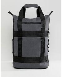 a7d1479e56 Adidas Originals 3m Rolltop Black Backpack in Black for Men - Lyst