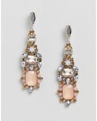 ALDO | Embellished Chandelier Earrings | Lyst