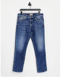 Tommy Hilfiger – Ryan – Legere, gerade Jeans - Blau
