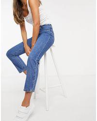Levi's – 501 – Kurz geschnittene Jeans - Blau