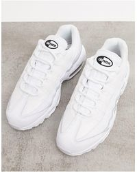Nike - Белые Кроссовки Air Max 95-черный - Lyst