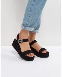 ASOS - Toucan Wedge Sandals - Lyst