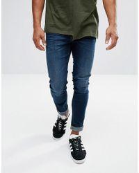 Lee Jeans - Malone Super Skinny Dark Wash - Lyst