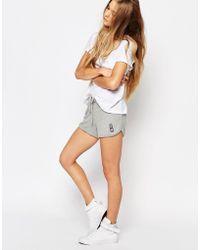 Sundry Grey Jumper Knit Shorts