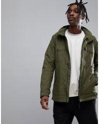 Didriksons Robert Four Pocket Jacket In Khaki - Green