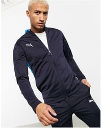 PUMA Football Tracksuit - Blue