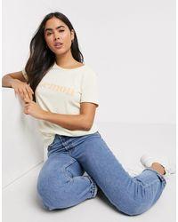 B.Young Lemon Slogan T-shirt - Multicolour