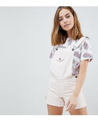 Noisy May Petite - Dungaree - Lyst