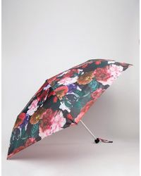 Monki Floral Print Handbag Umbrella - Multicolour