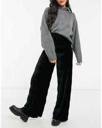 ASOS Wide Leg Trouser - Grey