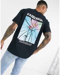 TOPMAN T-shirt With Back Print - Black