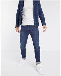 Levi's 512 - Smalle Jeans Met Smaltoelopende Pijpen En Stretch - Blauw