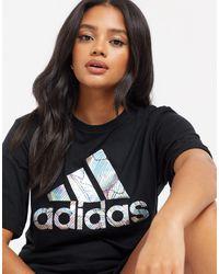 adidas Badge of Sport - T-shirt - Noir
