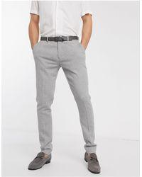ASOS Super Skinny Smart Trousers - Grey