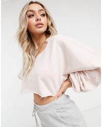 The Couture Club Sweat-shirt court - Rose