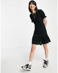 Whistles Yasmin Shirred Dress - Black