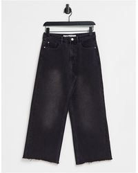 Brave Soul Melody Straight Leg Jeans - Black