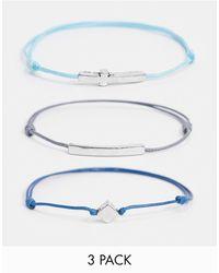 Icon Brand Festival Bracelet 3 Pack - Multicolor