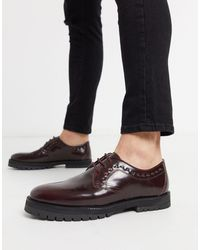 House Of Hounds Creed - Chaussures derby - Bordeaux - Rouge