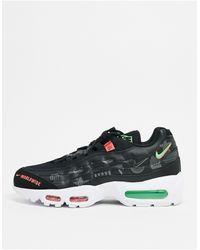 Nike Air Max - 95 Se Ww - Sneakers - Zwart