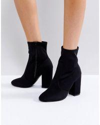 Faith - Bambi Heeled Boots - Lyst