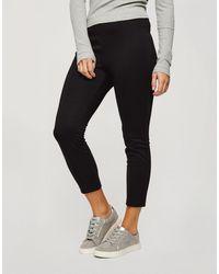 Miss Selfridge Ponte Slim Pants - Black