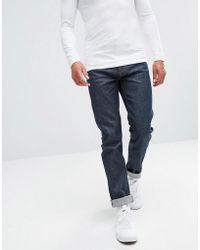 WÅVEN - Slim Fit Jeans In Selvedge Raw - Lyst