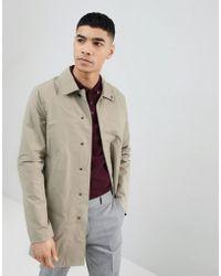 Pull&Bear Trench Coat In Tan - Brown