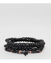 Classics 77 - Palm Tree Beaded Bracelets In 3 Pack - Lyst