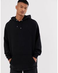 ASOS Extreme Oversized Hoodie - Black