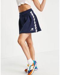 New Balance Taped Mini Skirt - Blue