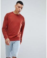 Only & Sons - Stripe Sweatshirt - Lyst
