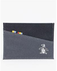 Original Penguin Card Holder - Black