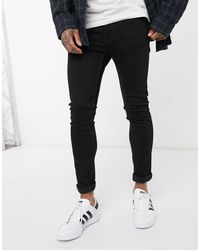 Levi's Youth – 519 Hi-Ball Roll –e Jeans mit Advanced-Stretch - Schwarz