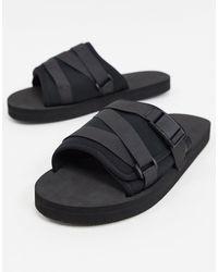 ASOS Tech Slippers - Zwart