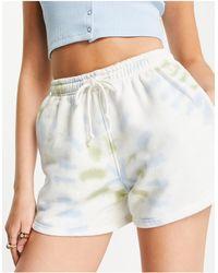 Daisy Street Relaxed Shorts - Blue