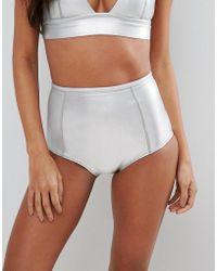 Billabong - High Waisted Neoprene Bikini Bottom - Lyst
