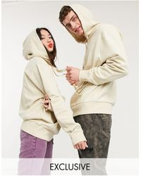 Collusion Unisex Hoodie - Natural