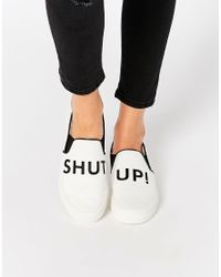 Pull&Bear - Message Slip On Trainer - Lyst