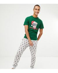 05853ee50 Lyst - GAP Factory Ninja Cookie Pj Set in Blue for Men