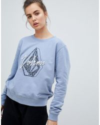 Volcom - Jumper In Blue - Lyst