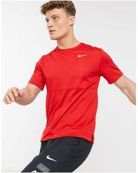 Nike Breathe Run T-shirt - Red