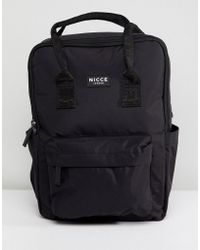 Nicce London Nicce Retro Backpack In Black