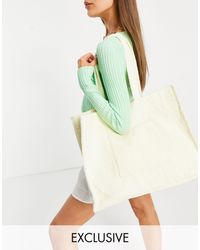 South Beach Towelling Tote - Green