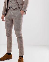 Burton - Wedding Super Skinny Suit Trousers - Lyst