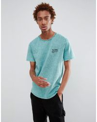 Globe - Howler Back Print T-shirt In Blue - Lyst