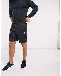 Under Armour Pantalones cortos en triple negro Challenger