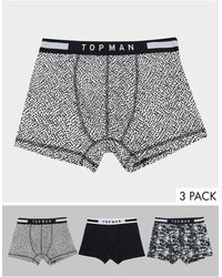 TOPMAN Lot - Multicolore