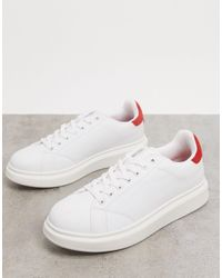 Pull&Bear Trainers - White