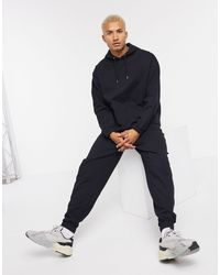 ASOS Organic Tracksuit With Oversized Hoodie & Oversized sweatpants - Black